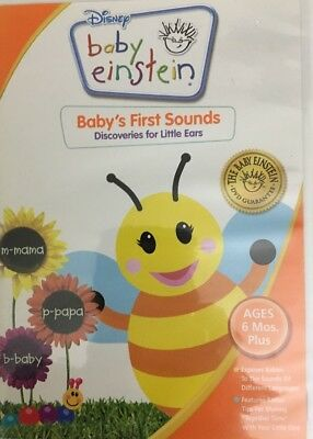 Disney Baby Einstein Babys First Sounds Discoveries For Little