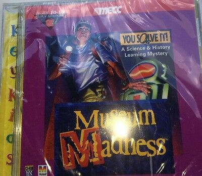 1993 Museum Madness CD-Rom PC Game--RARE VINTAGE COLLECTIBLE-SHIPS WITHIN 24 HRS