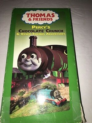 THOMAS & FRIENDS: Percy's Chocolate Crunch- Vhs -Children ...