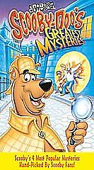 SCOOBY-DOO'S GREATEST MYSTERIES VHS 1998 Clamshell) Cartoon Network VINTAGE RARE