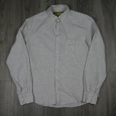 Vintage Mens Barbour International Steve McQueen Long Sleeve Shirt M