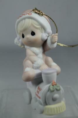 Precious Moments 'Baby's First Christmas' Girl 2006 Ornament #610005 New In Box