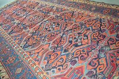 Antique Caucasian Russian Dhagistan Soumak Rug