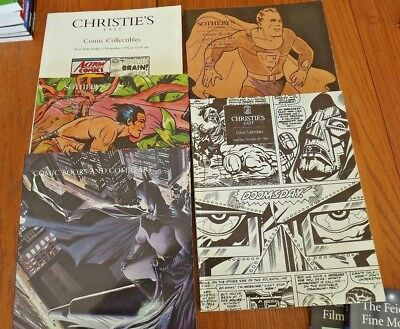 Sothebys and Christie's Vintage Movie Posters Catalog 5 Books