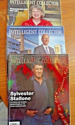 Intelligent Collector Heritage Catalogs 3 books Sylvester Stallone