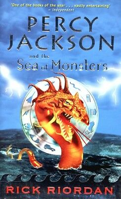 Percy Jackson and the sea of monsters by Rick Riordan (Hardback)
