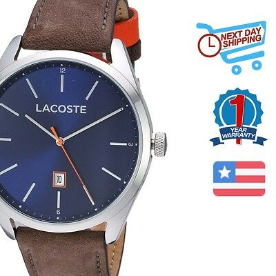 Lacoste Analog Casual CONSTANCE Brown Mens 2010910