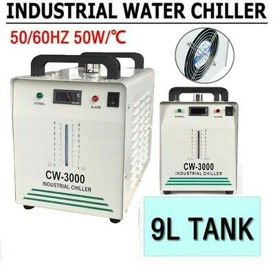 Industrial Water Chiller cool for single 60W 80W CO2 Laser Tube CW-3000 110V