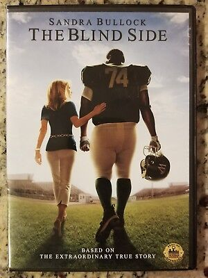 The Blind Side with Sandra Bullock Sports Drama Pre-Owned DVD Tim McGraw 2009