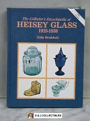 The Collector's  Encyclopedia Of Heisey Glass 1925 - 1938  By  Neila Bredehoft
