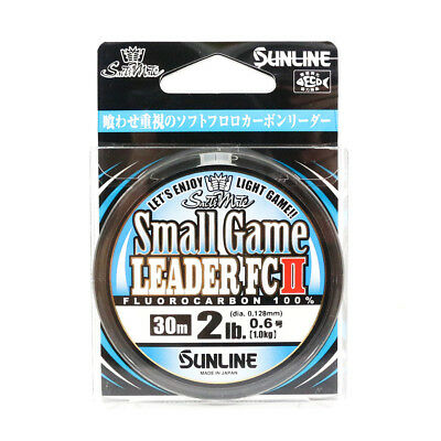 Sunline Fluorocarbon Small Game Leader FC II 30m 2lb (5378)