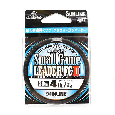 Sunline Fluorocarbon Small Game Leader FC II 30m 4lb (5392)