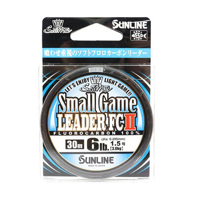 Sunline Fluorocarbon Small Game Leader FC II 30m 6lb (5415)