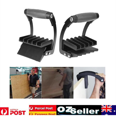 2x Plywood Carrier Handy Grip Board Lifter System Gorilla Gripper Panel Carrier