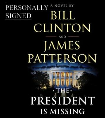 Signed The President Is Missing Patterson & Clinton 1st/Ed. Preorder dbl/Signed!