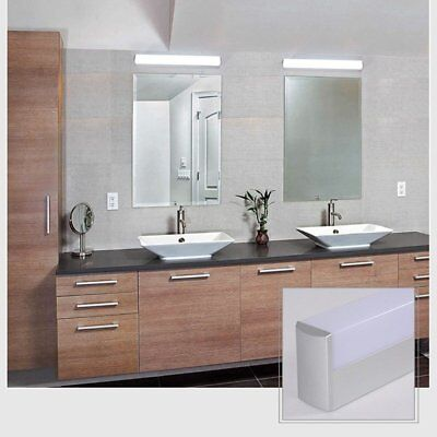 Bathroom Makeup Room Mirror LED Acrylic Wall Light Front LED Lamp Waterproof