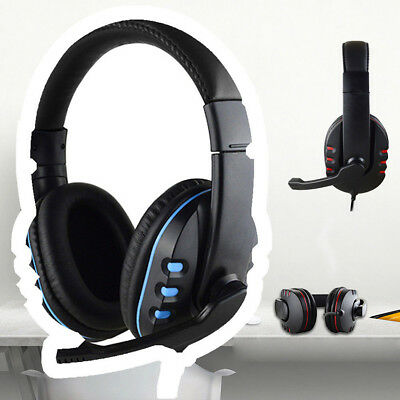 Gaming Headset Mic Stereo Surround Headphone 3.5mm Wired For PS4/Xbox/PC/Xboxone