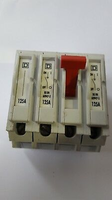 SQUARE D Q04100MN 4-Pole Main Switch (RS4.4B5)