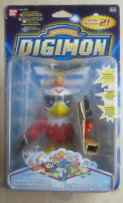 Ban Dai 1301 - Digimon Digital Monsters Season 2 Sprechender Hawkmon (Neu & OVP)