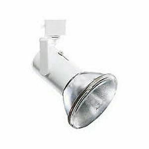 Lightolier 9021WH Mini Universal Track Light Matte White Lytespan