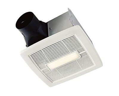 NuTone AEN110L Bathroom Ventilation Fan with LED Light