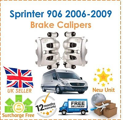 For Mercedes Sprinter 906 Series Front Right & Left Brake Calipers New