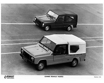 1979 Renault Rodeo Truck Factory Photo cb0683