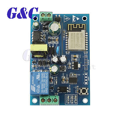 HOT 220V Wifi Relay Switch Remote Control Smart Home ESP8266 Relay Module