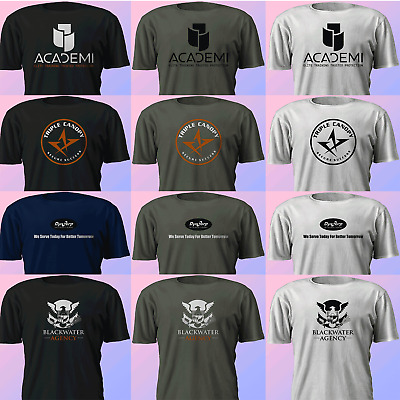 c4c47c714 New ACADEMI Triple CANOPY DynCorp Blackwater Private Security Multicolor T- Shirt
