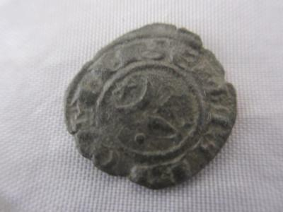 Messina Sicily Crusader State Copper 1 Penny Coin, Antiquity 1197-1205  KPR03306