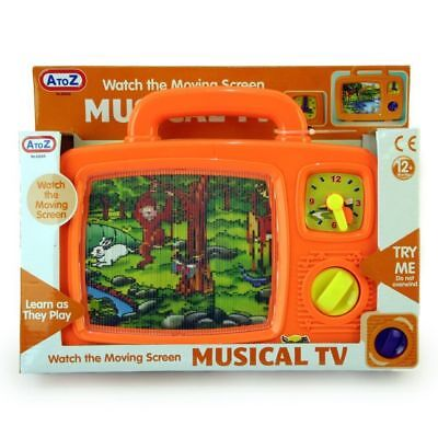 Wind Up Musical Picture Tv Toddler And Baby Toy