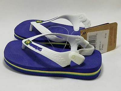 exquisite design genuine shoes good texture HAVAIANAS | FLIP Flops Baby Brasil Logo Marine Blue and ...