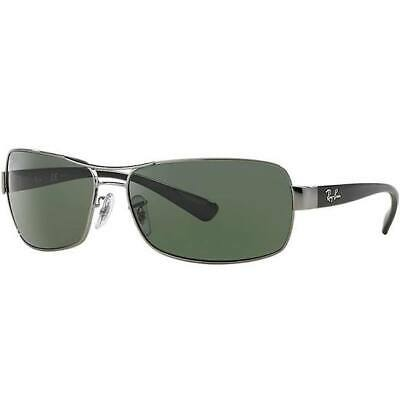 a4e1305d23 Authentic Rayban Sunglasses Rb3379 004 58 Glass Lens 64Mm Rb3379  made In  Italy
