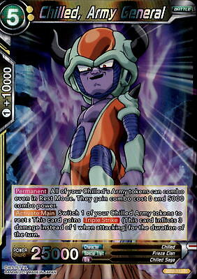 Dragon Ball TCG - BT2-112 - Chilled, Army General - Union Force