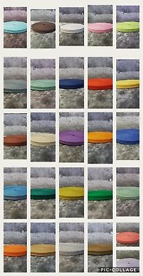 12mm (1/2 inch)  COTTON BIAS BINDING TAPE - VARIOUS LENGTHS - COLOURS