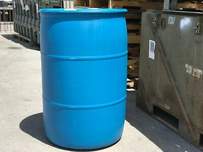 "Non-Food Grade Drinking Water 55 Gallon Barrels | Drums | 23"" x 23"" x 35.5"""
