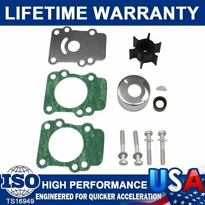 Outboards Water Pump Impeller Repair Kit Fits Yamaha 9.9hp-15hp 682-W0078-A1-00