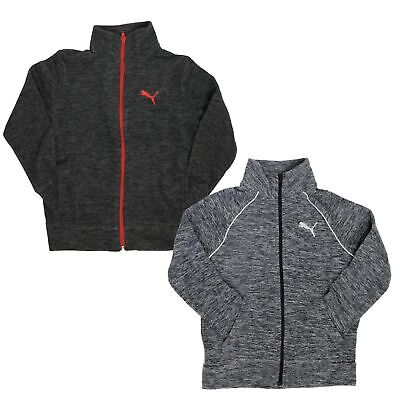 PUMA Fleece Full Zip Jacket for Boys - 2 Front Pockets