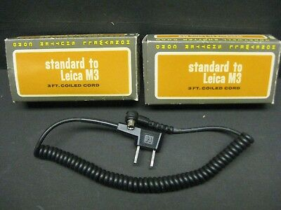 Honeywell shutter cord standard to Leica M3 No 448 new old stock