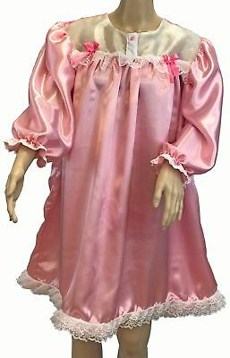 d7b47498a298 ADULT SISSY NIGHT Gown Baby Doll Naughty Negligee Dress Up - $68.65 ...