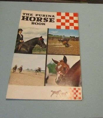 1968 The Purina Horse Book Research Feeding Programs Products Advertising Photos