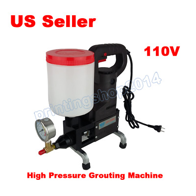 ​110v Electric Grouting Machine High Pressure Pouring Machine