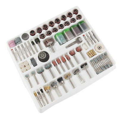 216Pcs  Mini Rotary Power Drill Tool Accessory Kit Fits Dremel Multi Tools