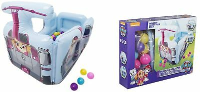 Paw Patrol Inflatable Ball Pit Playhouse For Boys Girls Kids Toddler Party Toy