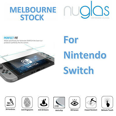NUGLAS PREMIUM Tempered Glass Screen Protector for Nintendo Switch