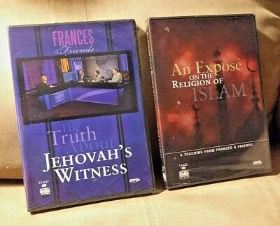 DVD - LOT of 5 Jehovah Witness - Faith in Action, Wonders of