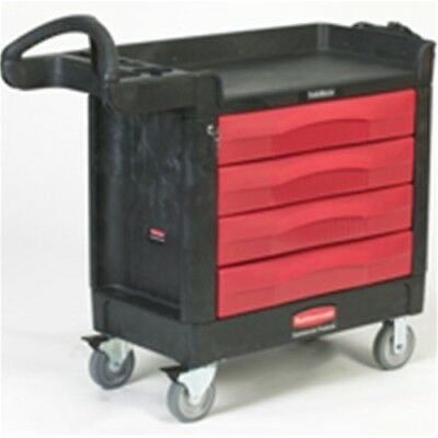 Rubbermaid FG451388BLA TradeMaster® Cart with 4 Drawer Cart
