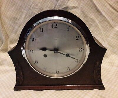 Smith's  Mantle Clock In Excellent Working Order   Sc1