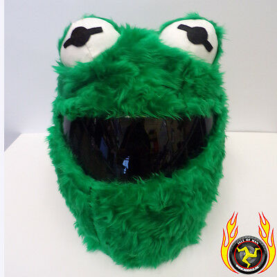 Kermit der Frosch Funny Heeds Crazy Crash Helm Cover