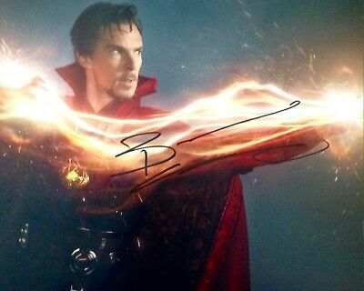 Benedict Cumberbatch Authentic Signed Doctor Strange 10X8 Photo Aftal#198